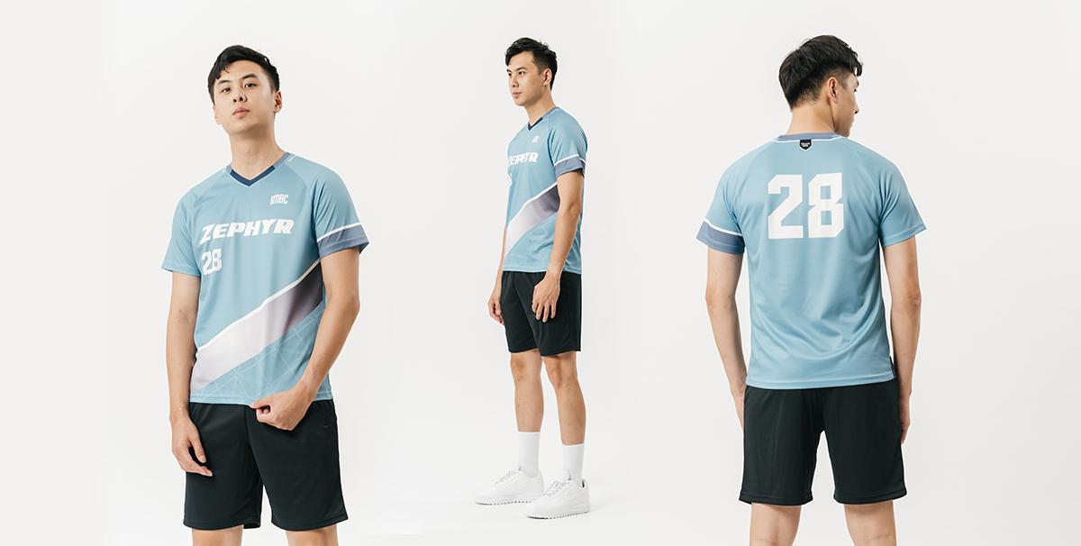 排球衣-訂做-色彩實驗W-1